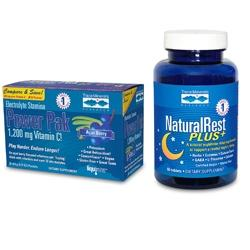 Naturalrest Plus+ & Açaí Flavored Electrolyte Stamina Power Pak
