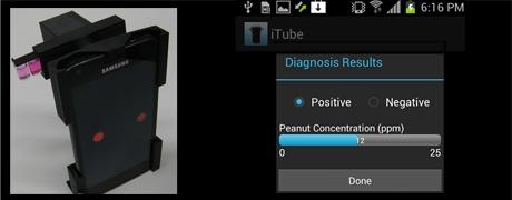 iTube Smart Sizes Lab Quality Food Allergy Detection